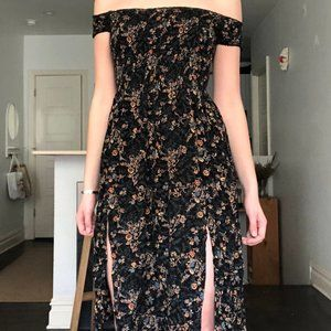 Off-the-shoulder Urban Outfitters dress